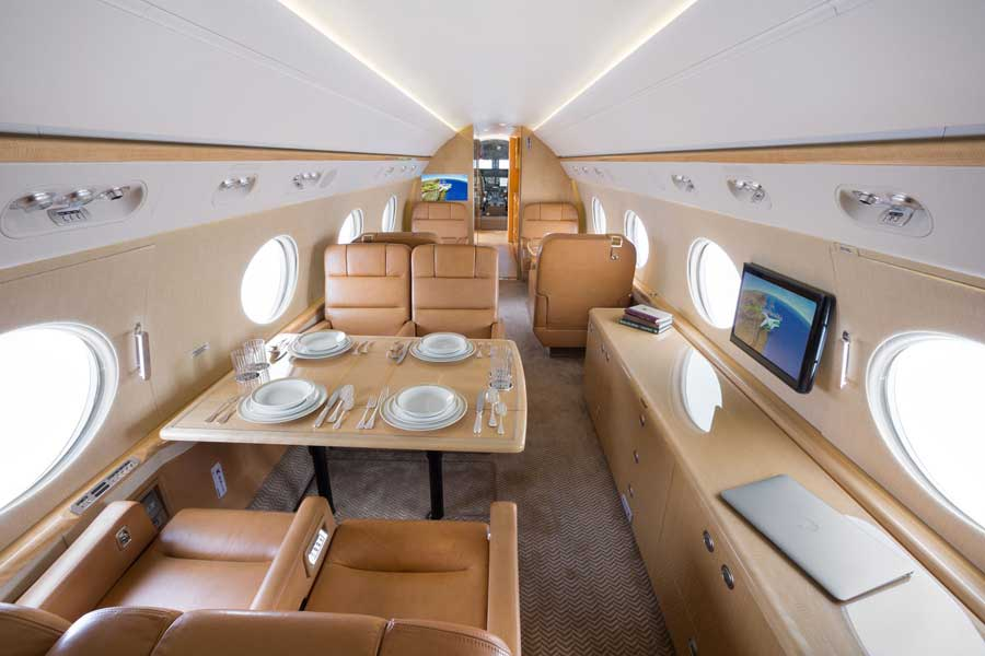 Business Aircraft Interior Completions